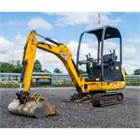 JCB 8014 CTS 1.4 tonne rubber tracked mini excavator  Year: 2014 S/N: 070516 Recorded Hours: 1482