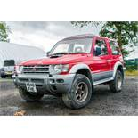 Mitsubishi Shogun 2800 diesel 3 door SUV Registration Number: N940 FHE Date of Registration: 31/12/