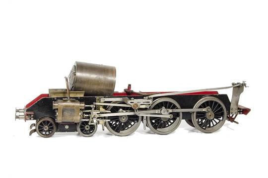 "A 3½"" gauge incomplete LMS 4-6-0 chassis and other parts: to"