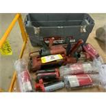 Hilti epoxy guns and epoxy