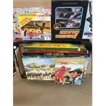 AN ASSORTMENT OF BOARD GAMES, INCLUDING CLUEDO WEMBLEY AND MORE