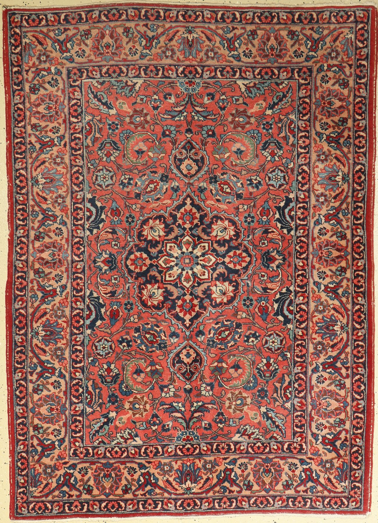 Tabriz Khoy old, Persia, around 1930, wool on cotton, approx. 189 x 138 cm, condition: 4. Auction: