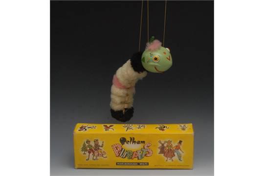 Marionette RARE VINTAGE PELHAM PUPPET CATERPILLAR