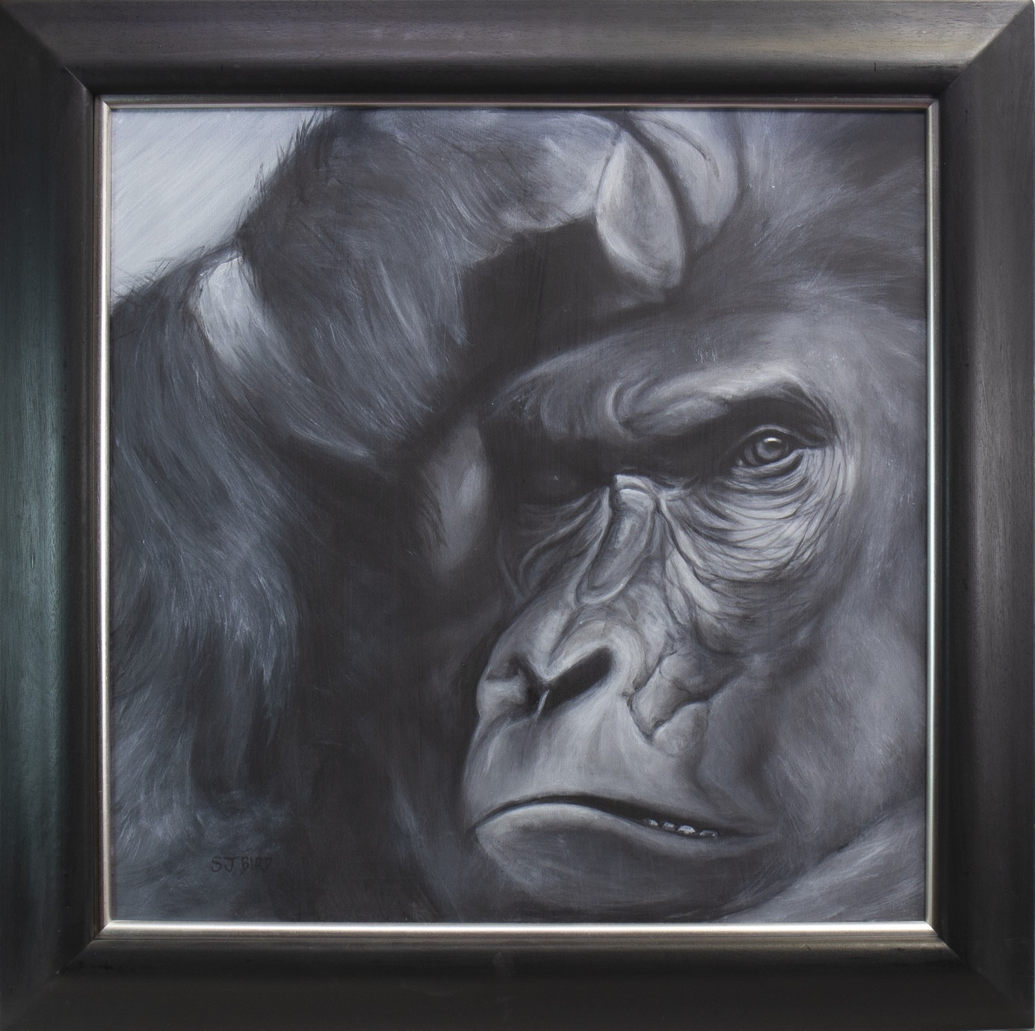 Lot 521 - DOUBTING THOMAS, AN OIL BY STANLEY BIRD