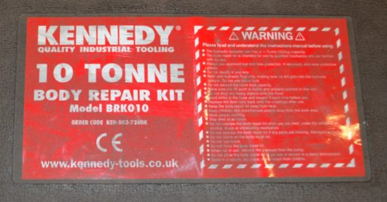 Lot 40 - Kennedy body repair kit (components missing)