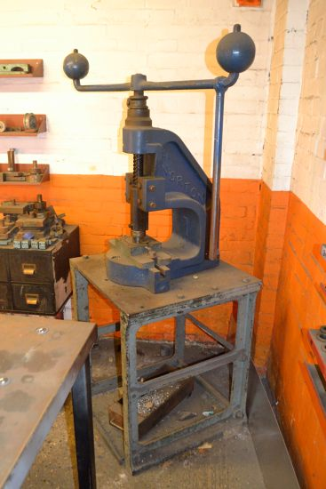 Lot 37 - Norton No 4A flypress