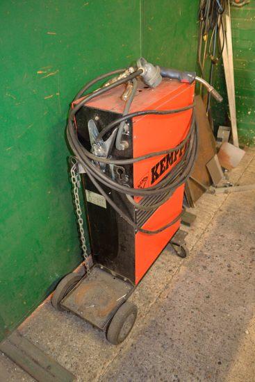 Lot 59 - Kemppi Kempomat 250 welding set