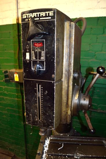 Lot 31 - Startrite EF1 pillar drilling machine