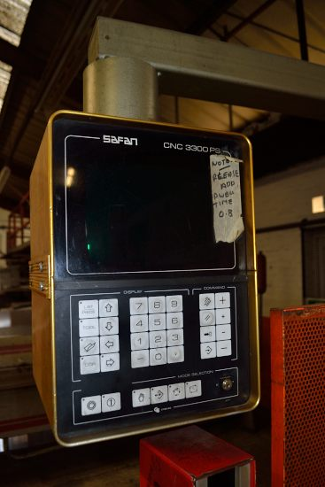 Safan CNCB press brake, 80 ton x 3100mm - Image 4 of 8