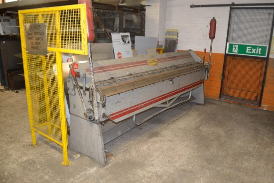 Lot 9 - Morgan Rushworth BP120/16 manually operated box and pan folder