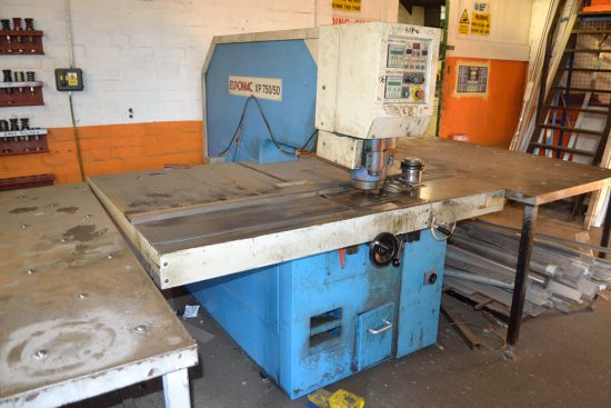 Lot 5 - Euromac XP750/50 punch press