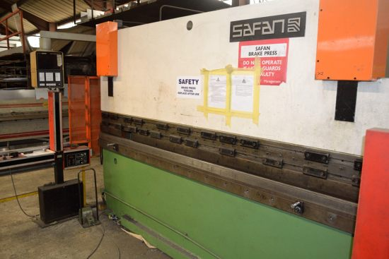 Safan CNCB press brake, 80 ton x 3100mm - Image 3 of 8