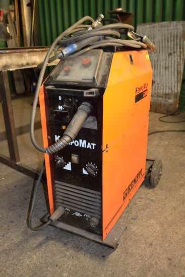 Lot 57 - Kemppi KempoMat 3200 welding set