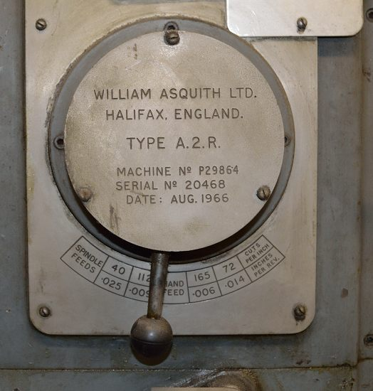 Lot 30 - Asquith A2R radial pillar drilling machine