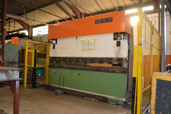 Lot 1 - Safan SK110-3100 press brake, 100 ton x 3100mm