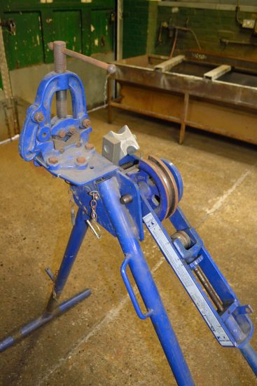 Lot 19 - Record 920 pipe bender