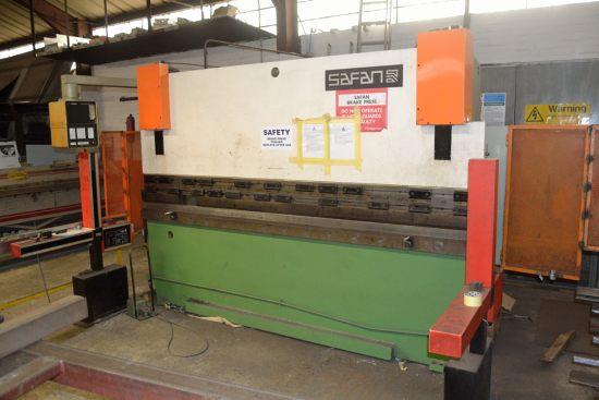 Safan CNCB press brake, 80 ton x 3100mm - Image 2 of 8