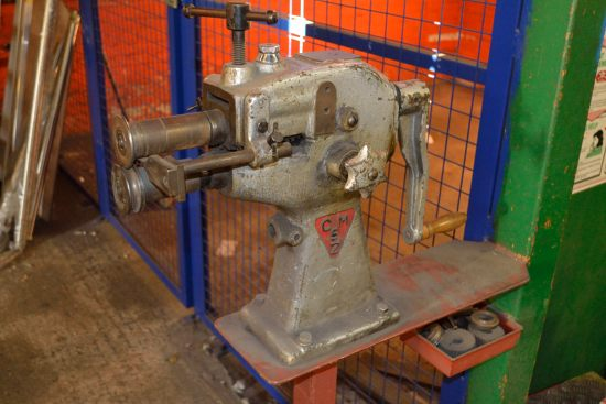 Lot 51 - Inzusa CM5Z swaging machine