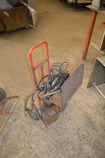 Lot 70 - Gas bottle trolley with quantity of untested hose