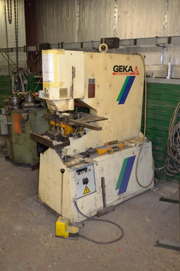 Lot 3 - Geka Puma 80E/500 hydraulic punching machine