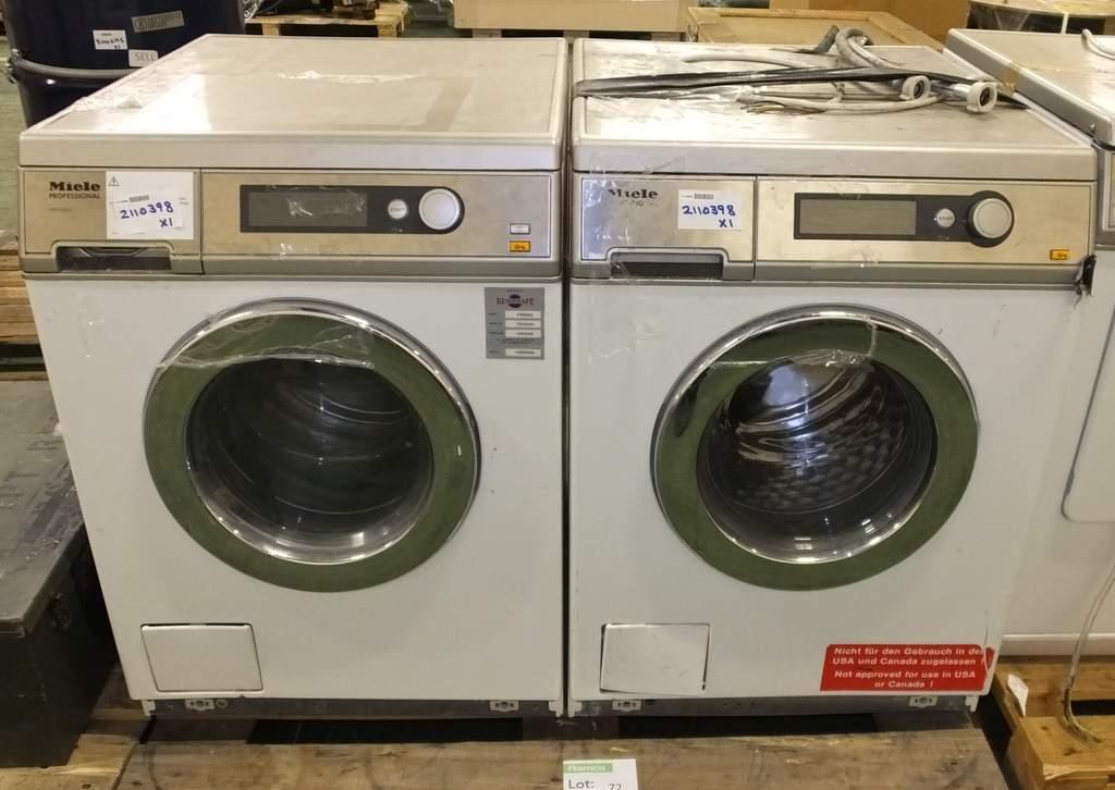 2x miele professional pw6065 dryers - Miele professional ...