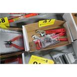 ASSORTED ADJUSTABLE WRENCHES IN BOX