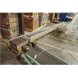 Mathews powered roller conveyor