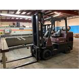 10,000 lb. Catepillar Forklift Model GC45KS1, Propane Tank NOT Included, s/n: AT87A01589