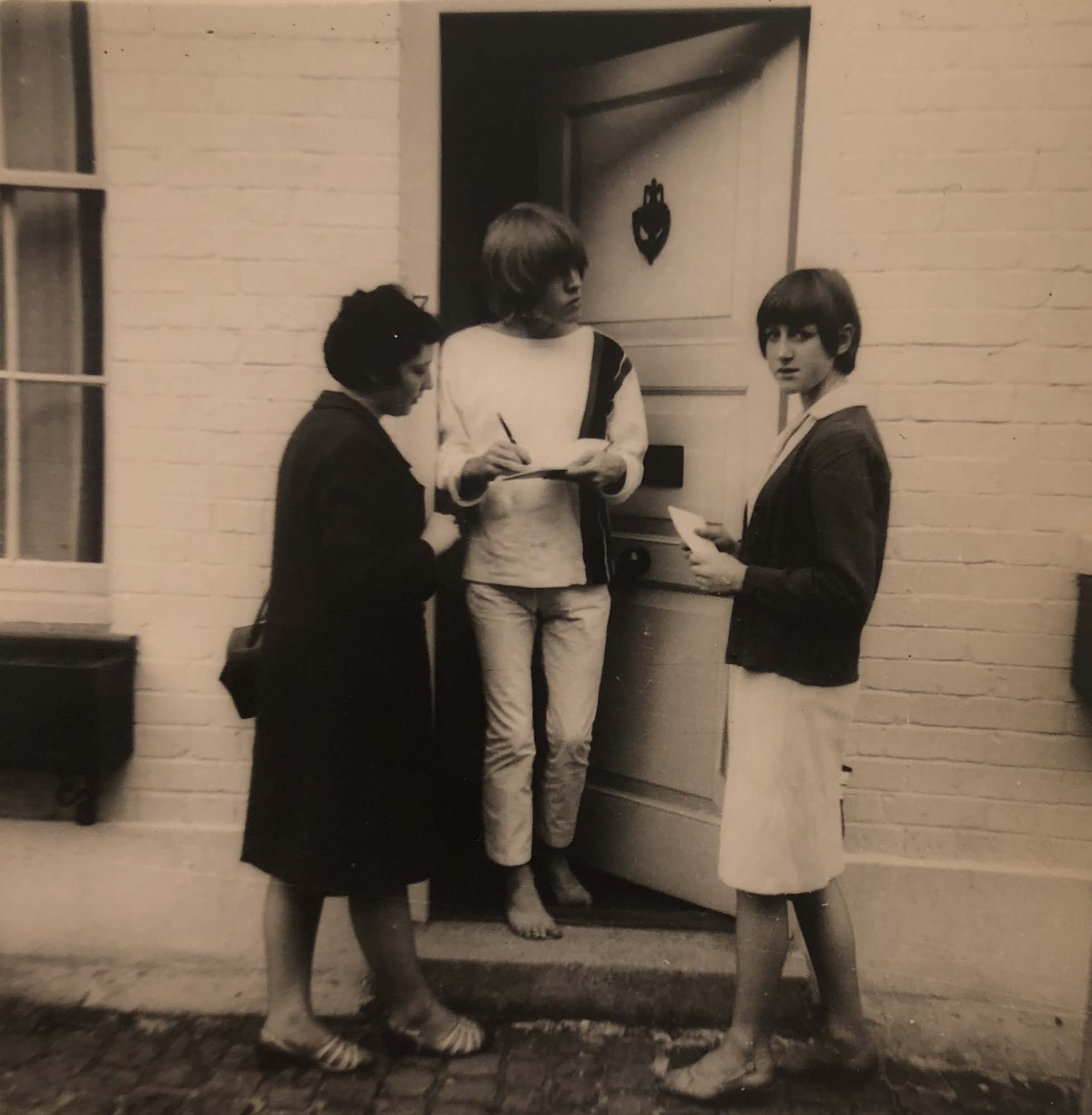 Brian Jones Autograph And Unseen Photographs Collection