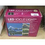 LED icicle light kit