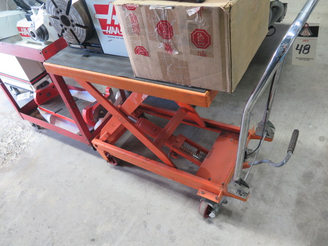 Lot 48 - Hydraulic Die Lift Cart