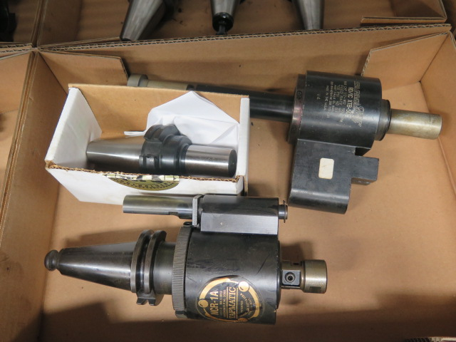 Lot 55 - CAT-40 Tapmatic Tapping Heads (2)