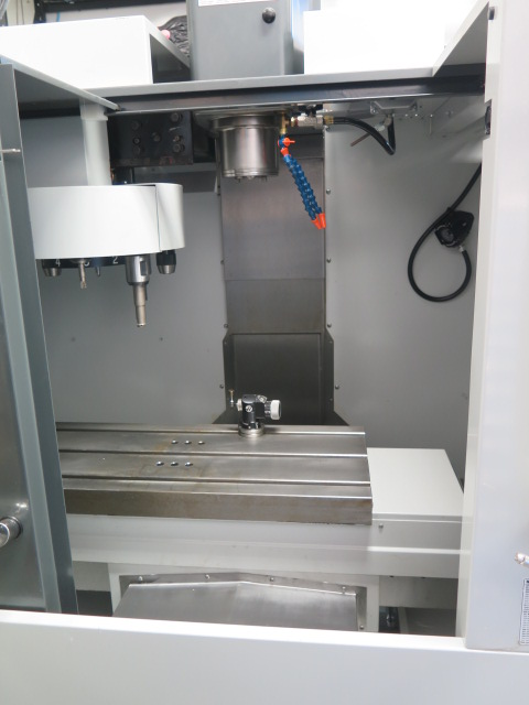 Lot 43 - 2012 Haas Super Mini Mill 2 4-Axis CNC Vertical Mill s/n 1094547 (NEVER RUN) w/ Haas Controls, 10-