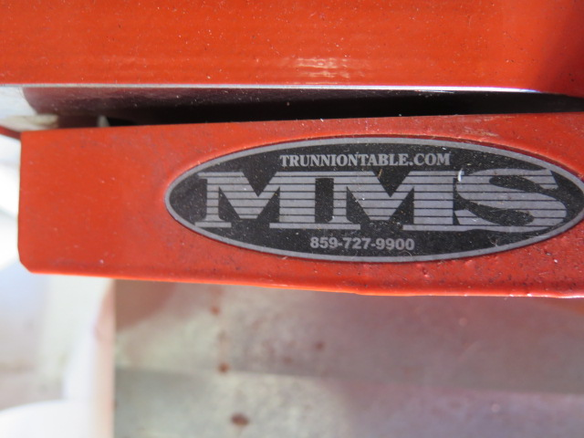 "Lot 45 - MMS 4th Axis Trunion w/ Haas Mount, Tailstock, 9"" x 19 ½"" Fixture Area"