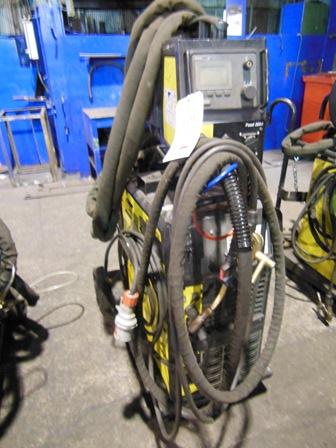 Lot 29 - ESAB Mig U4000i mig welding set Serial no. 950-519-0189 with Aristo Feed 3004 wire feed unit