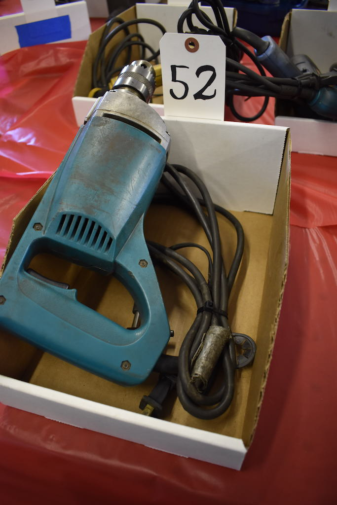 "Lot 52 - MAKITA MODEL 6301LR 1/2"" ELECTRIC DRILL"