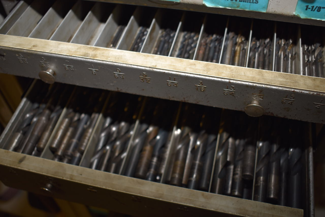 Lot 10A - LOT: ASSORTED DRILLS & DRILL INDEXES