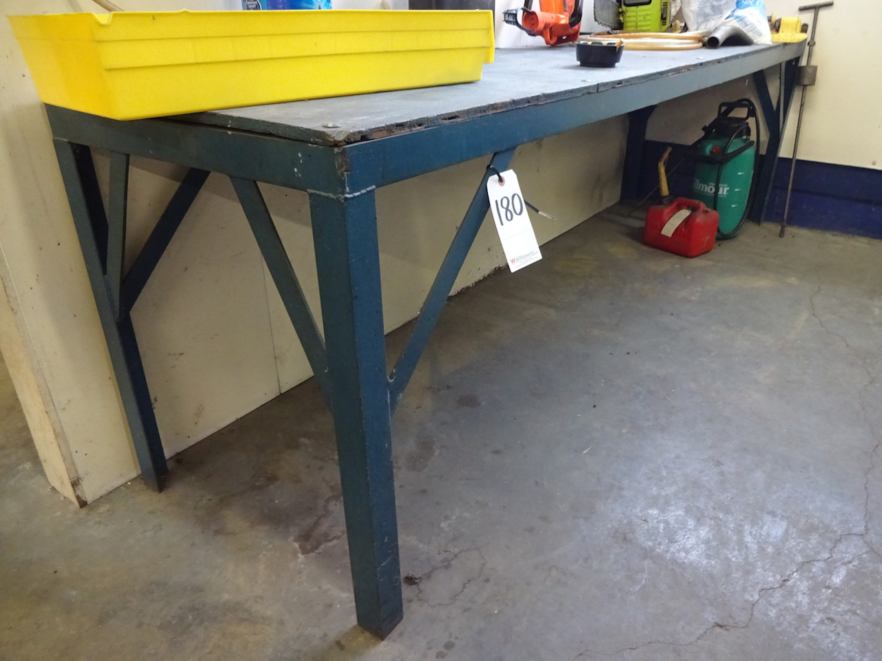 Lot 180 - PLYWOOD WORK BENCH