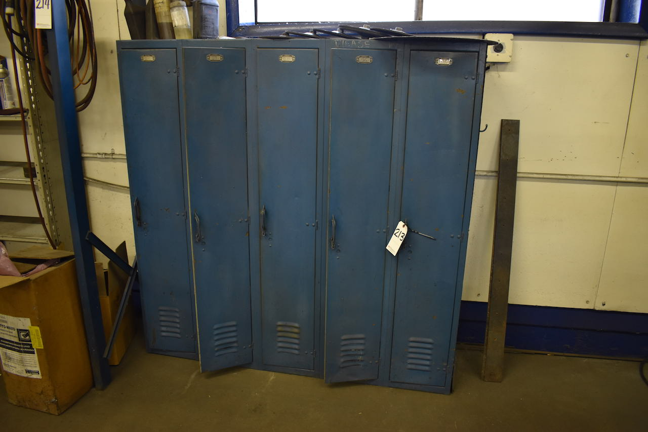 Lot 213 - 5-DOOR LOCKER