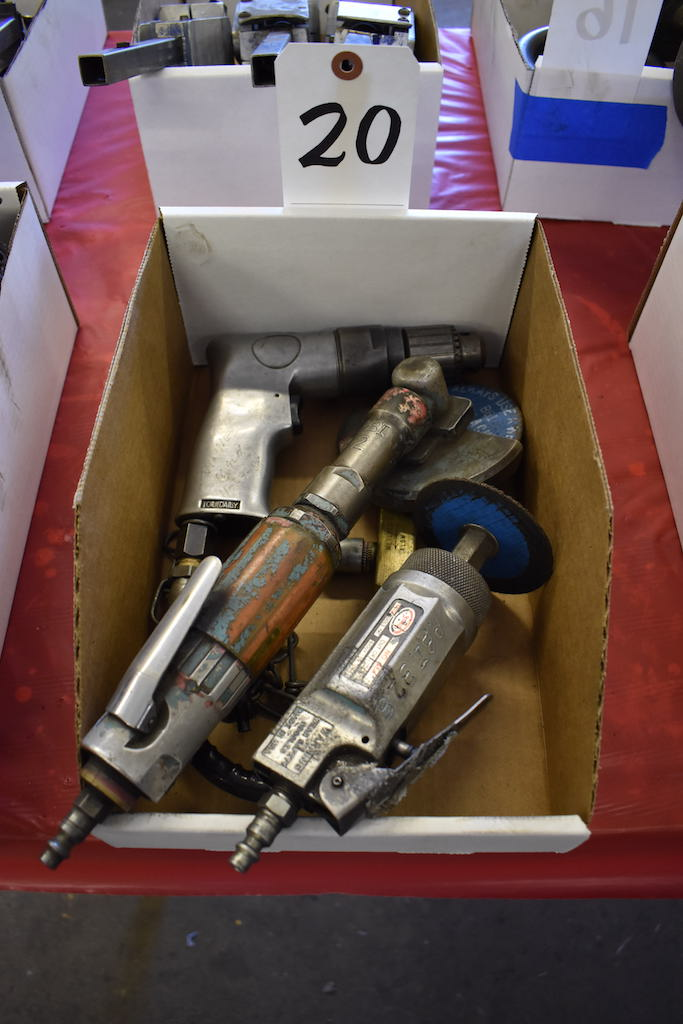 Lot 20 - LOT: (23) ASSORTED PNEUMATIC TOOLS