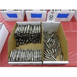 LOT: ASSORTED DOUBLE END MILLS IN (2) BOXES
