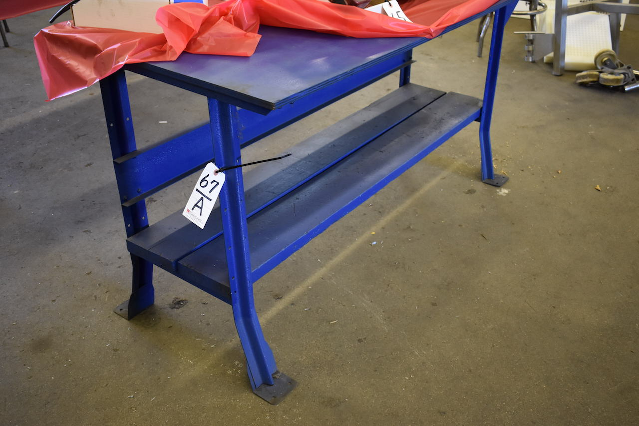 Lot 67A - PLYWOOD TOP WORK BENCH