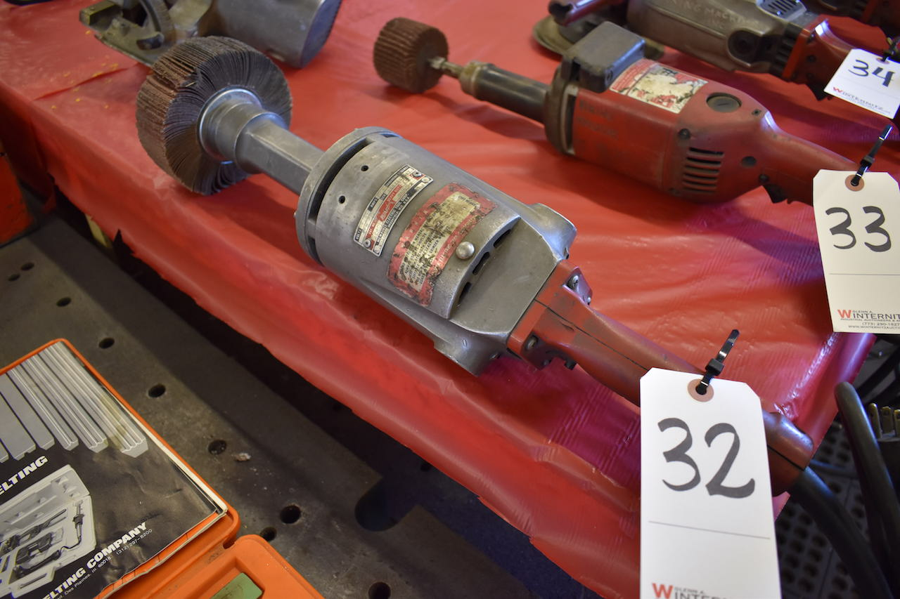 Lot 32 - MILWAUKEE CAT. NO. 5240 ELECTRIC SANDER/GRINDER