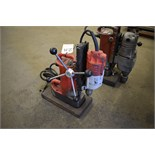 MILWAUKEE CAT. NO. 4202 ELECTRO MAGNETIC DRILL PRESS: S/N 0005981881