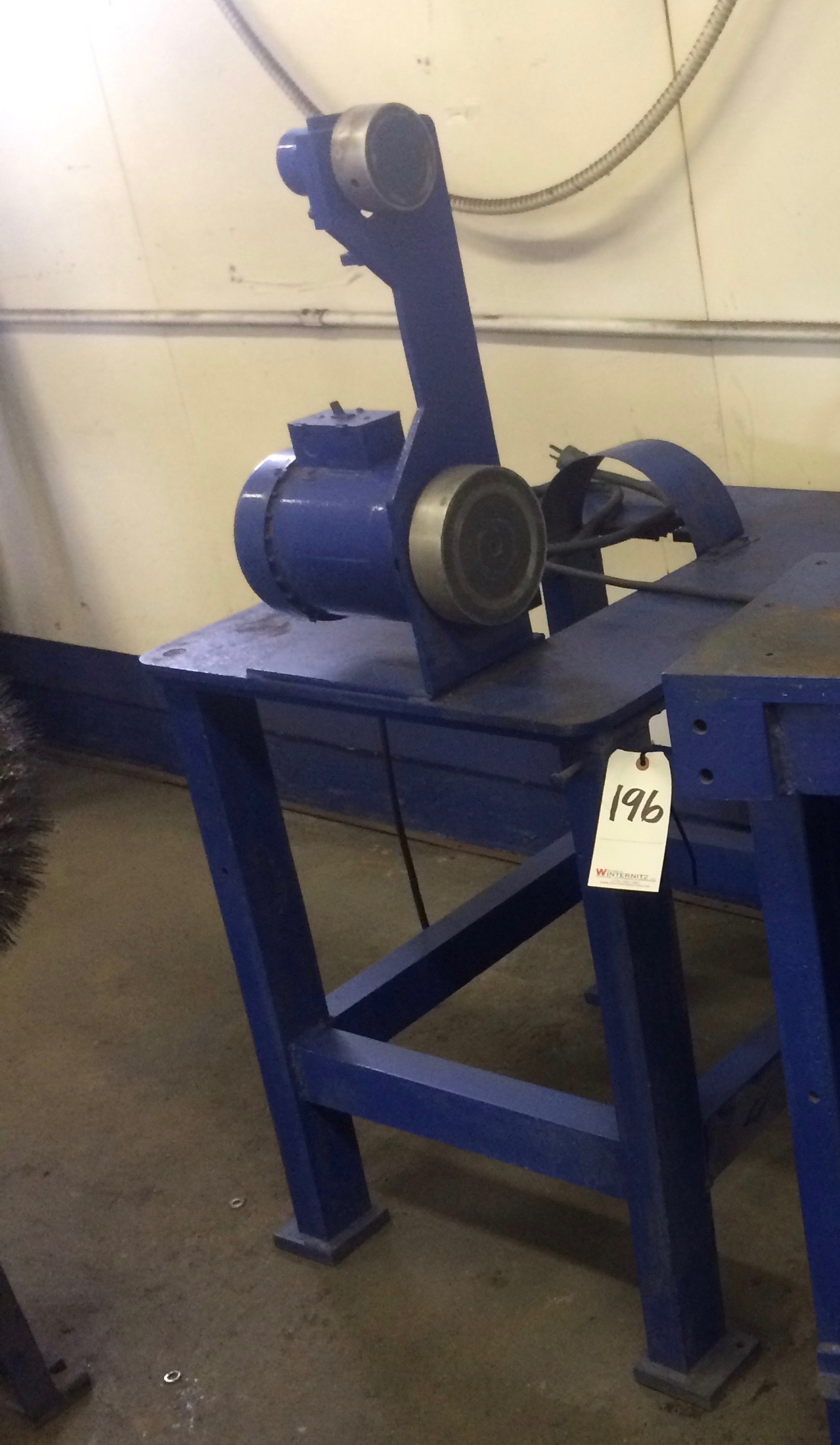 "Lot 196 - CUSTOM 1-1/2"" RIBBON SANDER"