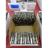 LOT: ASSORTED SINGLE END MILLS