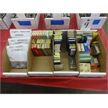 LOT: ASSORTED CARBIDE INSERTS IN (4) BOXES, MANUFACTURED BY ISCAR, KENNAMETAL, VALENTINE, TRW,