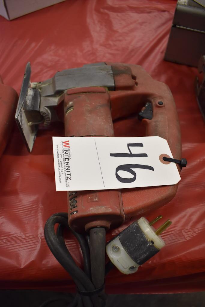 Lot 46 - MILWAUKEE ELECTRIC HEAVY DUTY JIG SAW