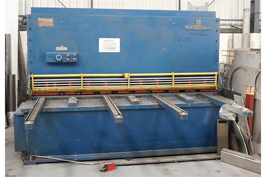 a press and shear elga hydrashear 8ft x 5in power guillotine no rh bidspotter co uk Control Wiring Teleflex Steering Cable