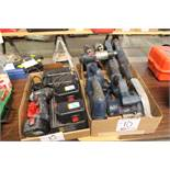 Bosch cordless tools, chargers and batteries